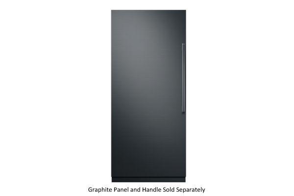 "Large image of Dacor Contemporary 36"" Panel Ready Left-Hinge Built-In Refrigerator Column - DRR36980LAP/DA"