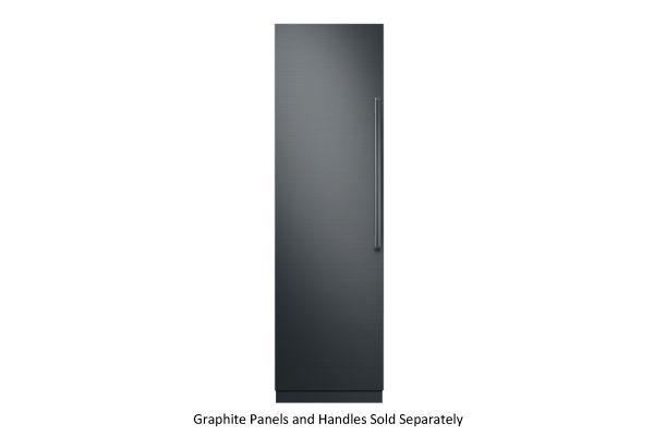 "Large image of Dacor Contemporary 24"" Panel Ready Left-Hinge Built-In Freezer Column - DRZ24980LAP/DA"