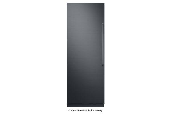 "Large image of Dacor Contemporary 30"" Panel Ready Left-Hinge Built-In Freezer Column - DRZ30980LAP/DA"