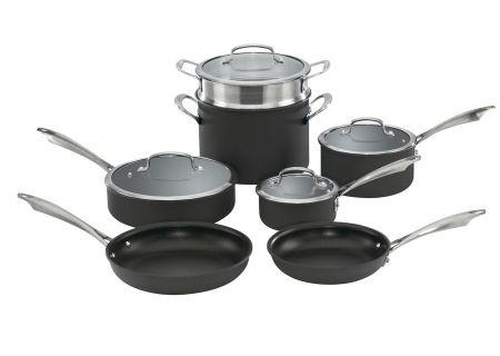 Cuisinart 10-Piece Anodized Cookware Set - DSA-11