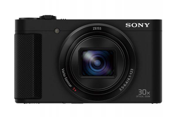 Large image of Sony HX80 Black CyberShot 18.2 Megapixel Digital Camera - DSCHX80/B