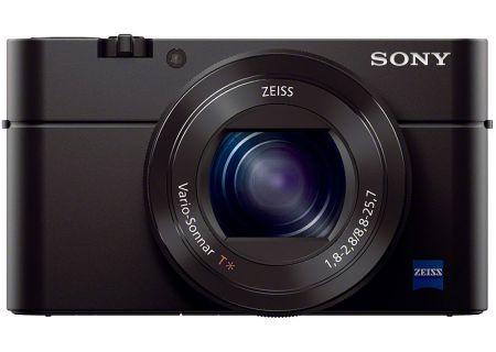 Sony Cyber-Shot 20.1 Megapixel Black Digital Camera - DSC-RX100M3/B