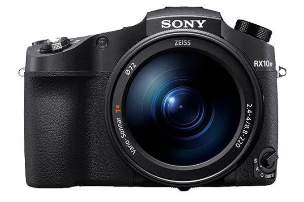 Large image of Sony Cyber-Shot 20.1 Megapixel Black Digital Camera - DSC-RX10M4