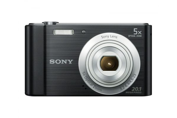 Sony Black Cyber-Shot 20.1 Megapixel Compact Digital Camera - DSCW800/B