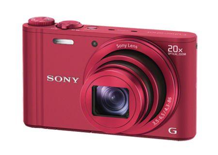 Sony - DSC-WX300/R - Digital Cameras