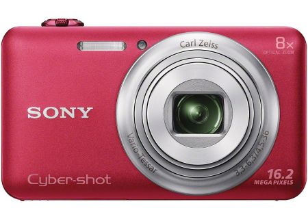 Sony - DSC-WX80/R - Digital Cameras