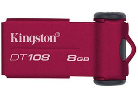Kingston - DT108/8GBZ - USB Flash Drive