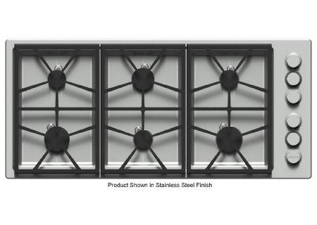 "Dacor Distinctive 46"" Black Liquid Propane Gas Cooktop  - DTCT466GB/LP"