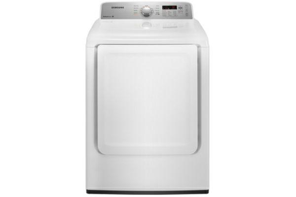 Samsung 7.2 Cu Ft Capacity White Electric Top Loading Dryer - DV400EWHDWR
