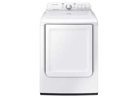 Samsung 7.2 Cu. Ft. White Front Load Gas Dryer - DV40J3000GW
