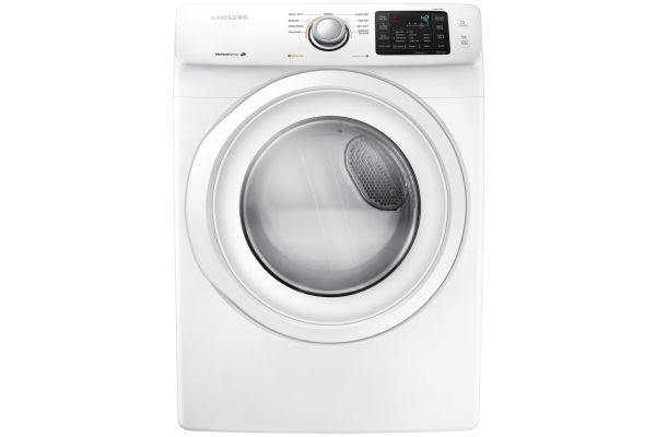 Samsung White Front-Load Electrical Dryer - DV42H5000EW