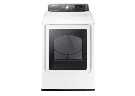 Samsung - DV48J7700EW - Electric Dryers