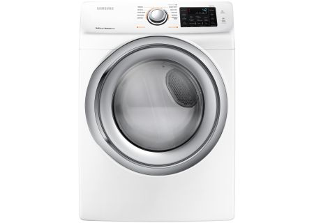 Samsung White Gas Dryer - DVG45N5300W