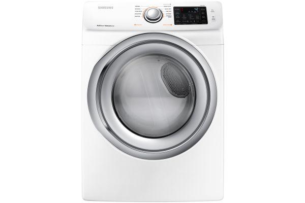 Samsung White Gas Dryer - DVG45N5300W