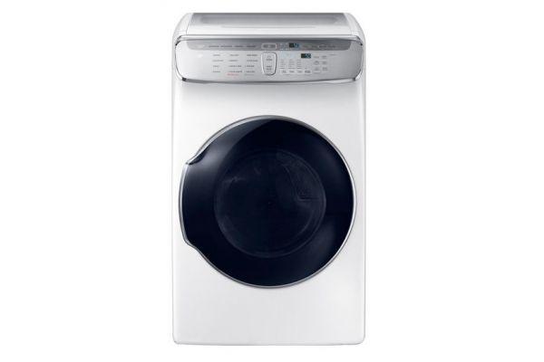 Samsung 7.5 Cu. Ft. White FlexDry Electric Dryer  - DVE55M9600W