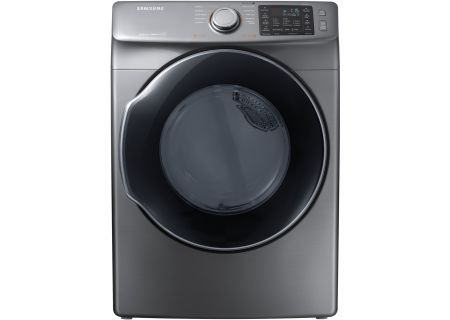 Samsung Platinum Gas Steam Dryer - DVG45M5500P