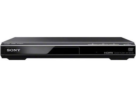 Sony 1080p Upscaling Black DVD Player - DVP-SR510H - Abt
