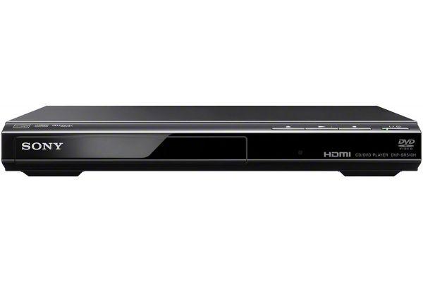 Large image of Sony 1080p Upscaling Black DVD Player - DVPSR510H
