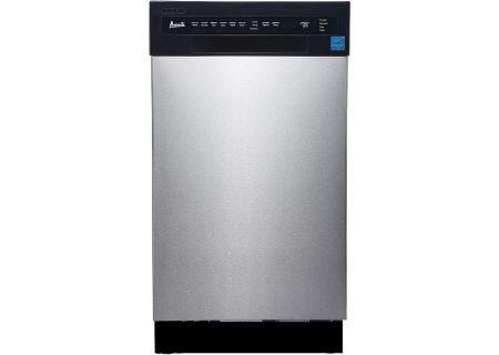 "Avanti 18"" Stainless Steel Built-In Dishwasher - DW1833D3SE"