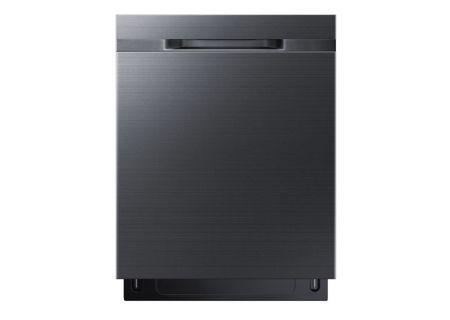 "Samsung 24"" Fingerprint Resistant Black Stainless Steel Built-In Dishwasher - DW80K5050UG"