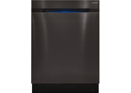 "Samsung 24"" Chef Collection Black Stainless Steel Built-In Dishwasher - DW80M9990UM"