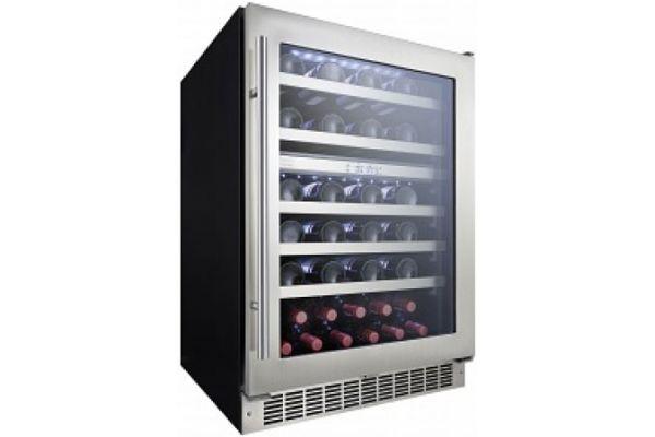 Danby Silhouette Professional Stainless Steel Wine Cellar - DWC053D1BSSPR