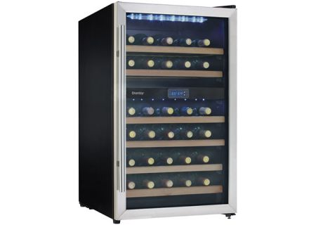 Danby - DWC113BLSDB - Wine Refrigerators and Beverage Centers