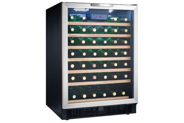 Danby Stainless Steel 50 Bottle Wine Cooler - DWC508BLS