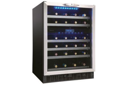 Danby Black Stainless Steel Wine Cellar - DWC518BLS