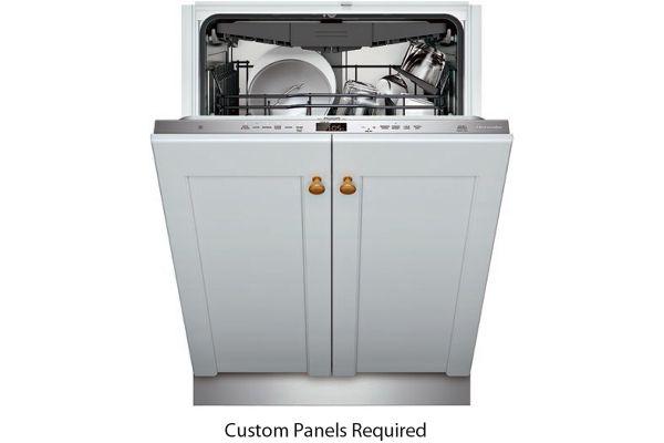 "Large image of Thermador 24"" Emerald Series Custom Panel 6 Program Dishwasher - DWHD650WPR"
