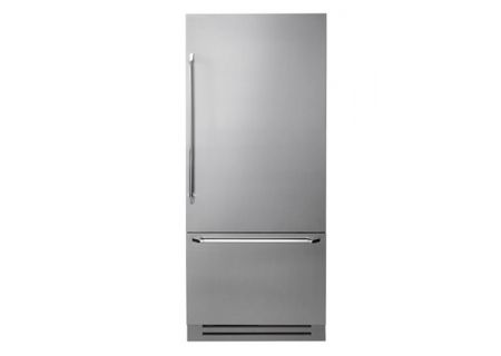 """Dacor Discovery 36"""" Stainless Steel Fully Integrated Bottom Freezer Refrigerator  - DYF36BFBSR"""