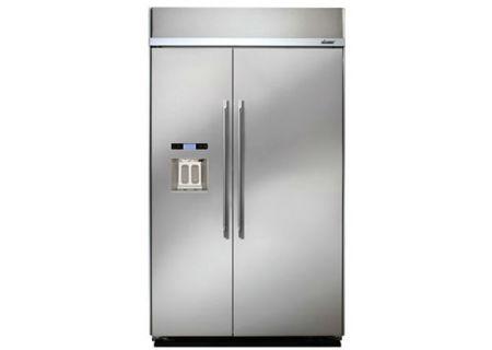 Dacor - BYF48BIWS - Built-In Side-by-Side Refrigerators