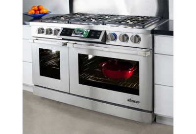 Dacor discovery 48 stainless dual fuel range dyrp48d for Dacor 48 dual fuel range