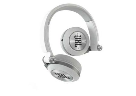 JBL Synchros White On-Ear Bluetooth Headphones - E40BTWHT