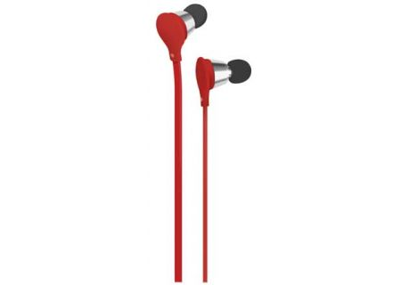AT&T Wireless - EBM01 RED - Earbuds & In-Ear Headphones