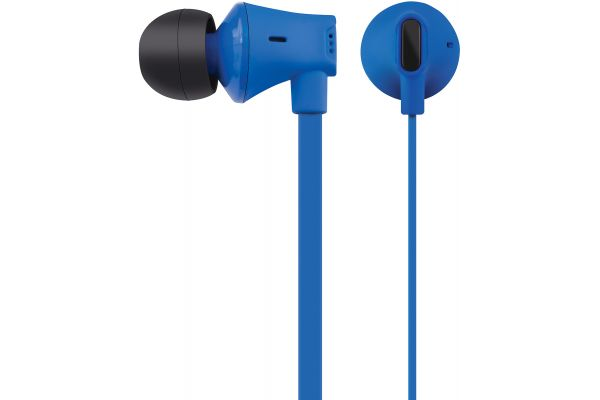Large image of AT&T Jive Blue In-Ear Wired Headphones - EBM03BLUE