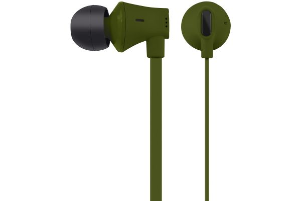 AT&T Jive Green In-Ear Wired Headphones - EBM03-GRN