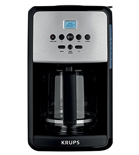 Krups Savoy Stainless Steel Coffee Maker - EC314050
