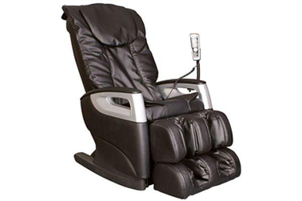 Large image of Cozzia 360D Black Reclining Shiatsu Massage Chair - EC-360D-29