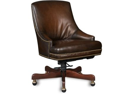 Hooker Furniture Home Office Heidi Executive Swivel Tilt Arm Chair - EC403-085