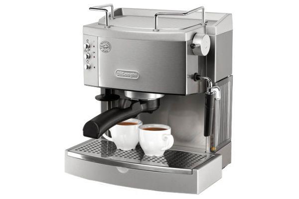DeLonghi Stainless Espresso/Cappuccino Maker - EC702