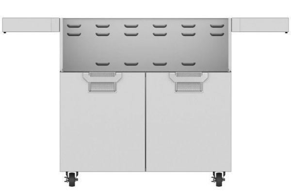 """Large image of Hestan Aspire 36"""" Steeletto Double Door Tower Cart - ECD36"""