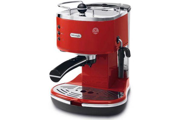 Large image of DeLonghi Red Icona Pump Driven Espresso Maker - ECO310R