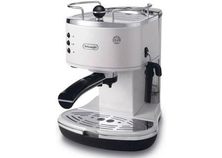 DeLonghi White Icona Pump Driven Espresso Maker - ECO310W