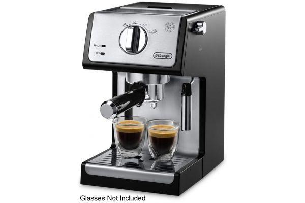 Large image of DeLonghi Black Pump Espresso Machine - ECP3420