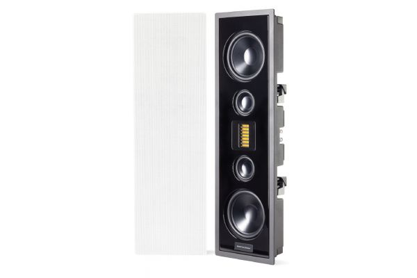 Large image of MartinLogan Stealth Series Edge High Performance White In-Wall Speaker (Each) - EDGEWH