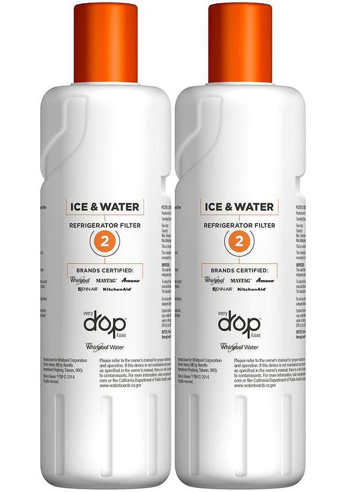 EveryDrop Ice & Water Refrigerator Filter 2 - EDR2RXD2