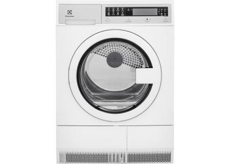 Electrolux Island White Compact Electric Dryer - EFDE210TIW