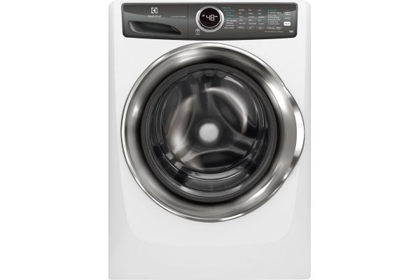 Large image of Electrolux 4.3 Cu. Ft. Island White Front Load Perfect Steam Washer With LuxCare Wash - EFLS527UIW