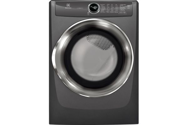Large image of Electrolux Titanium Electric Steam Dryer - EFME527UTT